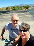 Bike riding in Lake Havasu, AZ