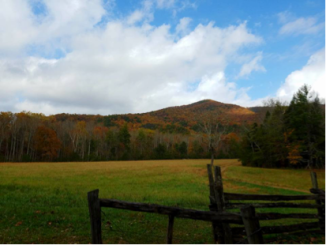 Cades Cove in Smokey Mountain National Park
