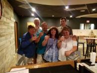 Tonya, Roger, Mike, Sally, Keith and Tammy