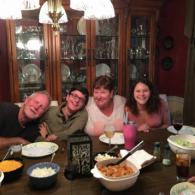 Roger, Tonya, Paige and Mitchel