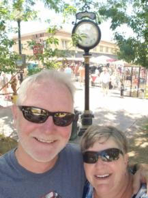 Tonya and Roger in Palisade, CO