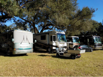 Parked for the Tampa RV Show