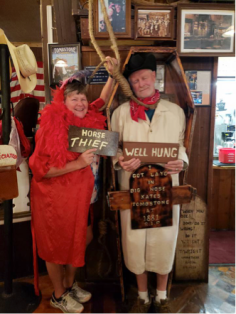 "Fun pictures at ""Big Nose Kates"" in Tombstone"
