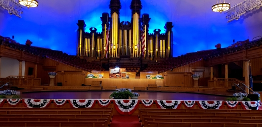 Mormon Tabernacle Pipe Organ