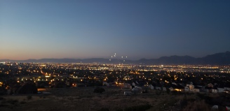 Fireworks over SLC