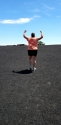 A hill made of cinders from 1000's of years ago - Craters of the Moon NP