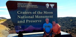 Awesome - Craters of the Moon!