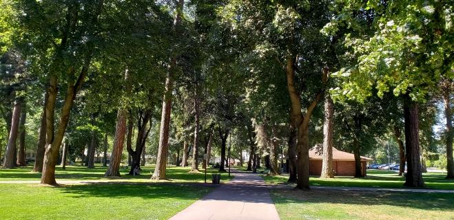Part of the Centennial Trail
