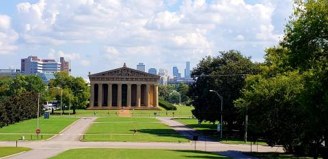 Parthenon in Nashville - it's perfect recreation!
